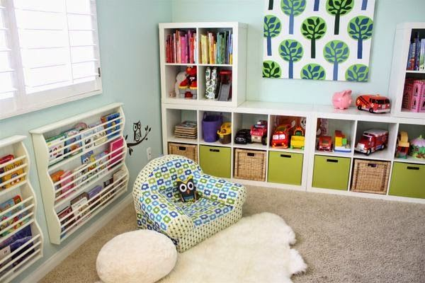 My Christmas Wish List: Playroom Storage!