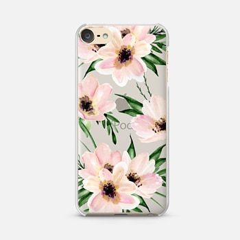 iPod Touch 6 Case Watercolor flowers