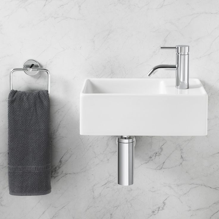 Teo 410 Hand Wall Basin   Impressive Look With Clean Straight Lines. Http:/