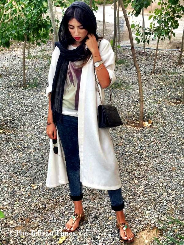 Trending in Tehran: Notes from an Iranian Street Style Blog   Messy Nessy Chic