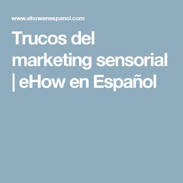 Trucos del marketing sensorial   eHow en Español