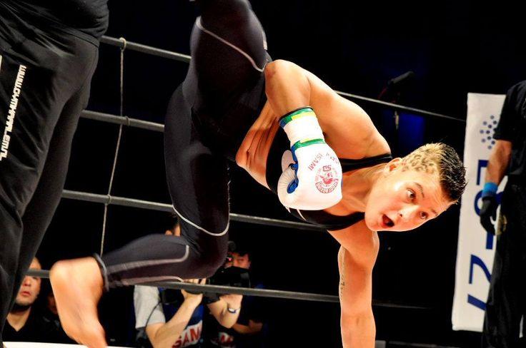 lorena klijn vs RENA | kick boxing shoot boxing