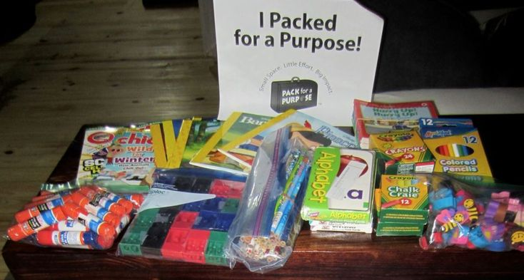 My husband and I traveled to Botswana a few weeks ago and wanted to help children and women in need. We posted the list recommended by Pack for a Purpose in our Facebook group called The Village and received donations of school supplies, sports equipment, first aid supplies, and feminine hygiene products. We stuffed...
