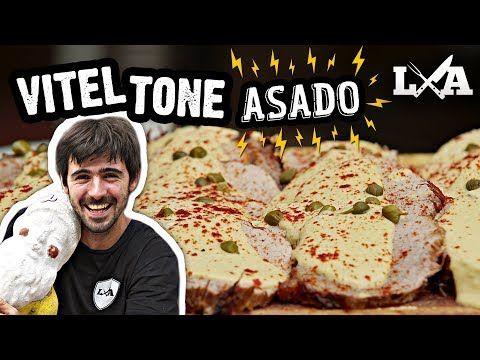 Vitel Tone Asado para las Fiestas - Receta de Locos X el Asado - YouTube