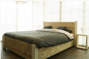 Bouwtekening steigerhout bed nodig? Klik hier voor gratis bouwtekeningen!