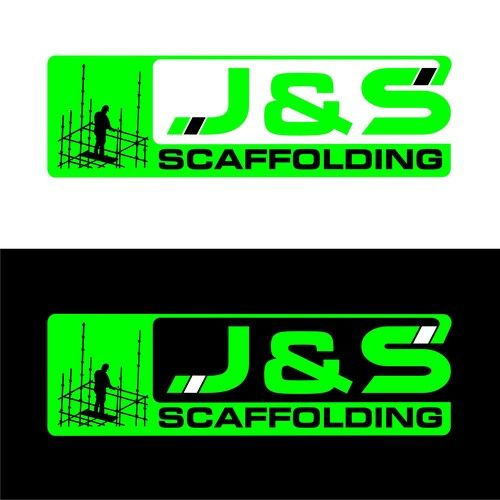 j & S scaffolding - Logo for new scaffolding company