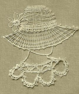 Handcraft Blog: Easy bobbin lace pattern for beginners