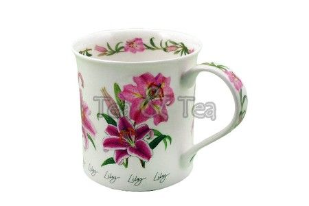 Kubek Bute Autumn Flowers Lily 250ml Dunoon
