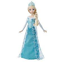 Disney Frozen - Poupée Sparkling Princess de La reine des neiges - Elsa