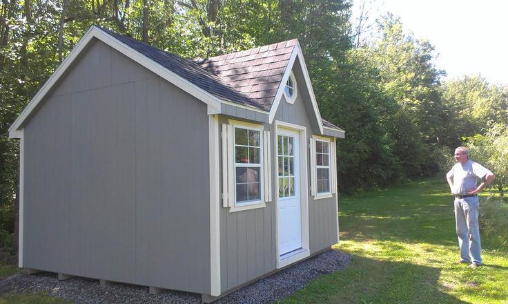 Shed Bunkie Plans - North Country Sheds - Portable Garage ...