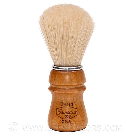 First pick for a boars hair brush  Semogue Owners Club Pure Bristle Cherry Handle