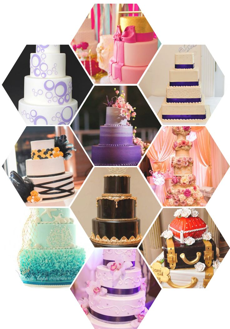 Choosing a wedding cake should be fun! Here are more than 200 ideas for wedding cakes with the names and links to their sellers.