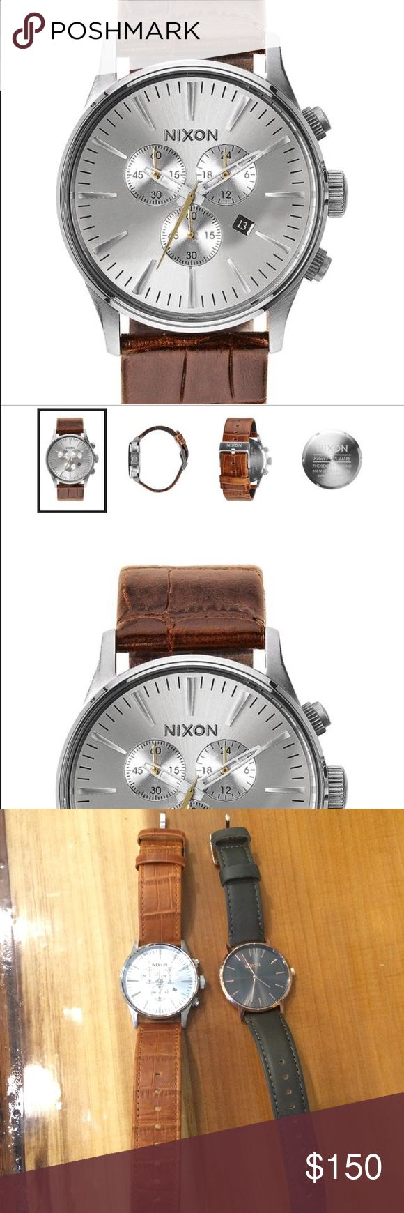 Men's Nixon watch Men's Nixon watch - worn ONCE - great condition Nixon Accessories Watches
