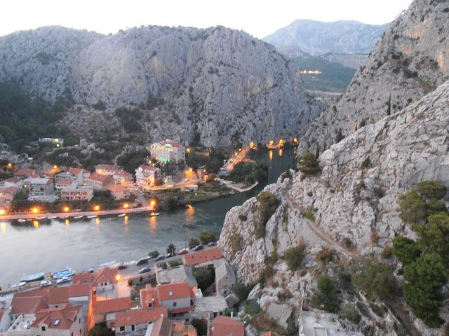 Canyon by river Cetina, Omiš- Croatia