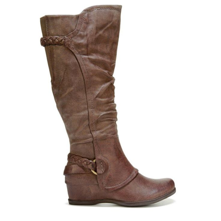 Bare Traps Women's Quintona2 Wide Calf Boots (Mushroom)