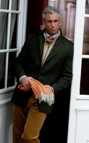 ♂ man with style winter fashion Sandor Johnson