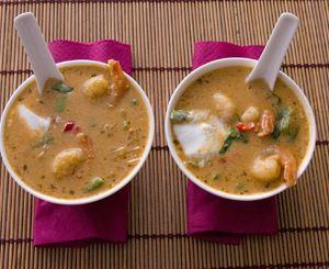 Idealna zupa tajska z krewetkami i mleczkiem kokosowym