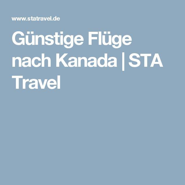 Günstige Flüge nach Kanada | STA Travel