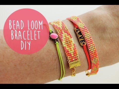 How to Finish Off Traditional Loom Work and Add a Slider Clasp - YouTube