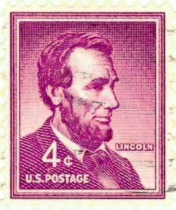 Usa Stamp 1958 4 Cent Lincoln Stamps Abraham