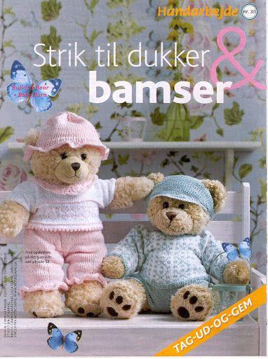 Strik til dukker og bamser - Mariann Vendelbo Borregaard - Picasa Web Albums