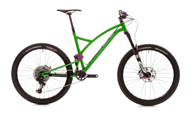One4All - VTT tout suspendu - Our bikes - Bikes designed and manufactured entirely in France - Caminade