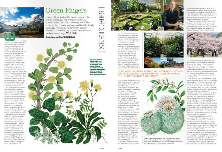 Endangered Plants on Behance