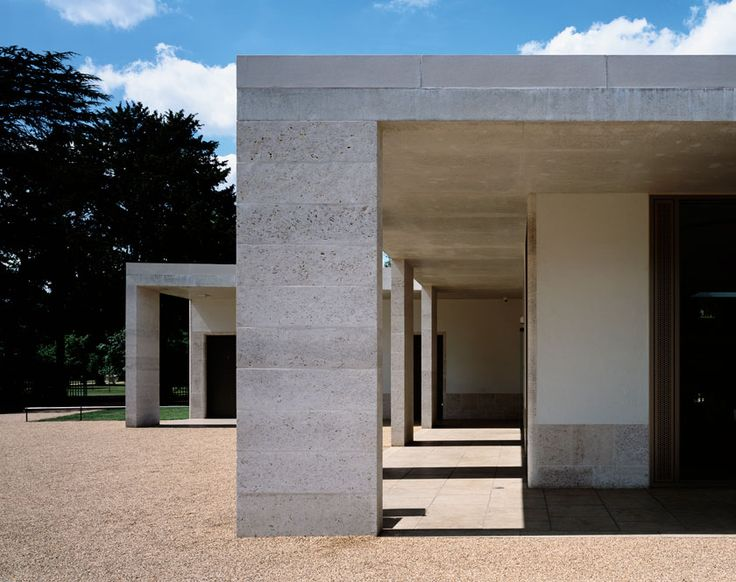 Chiswick House Cafe by Caruso St. John Architects