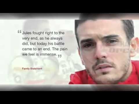 Jules Bianchi Accident   Jules Bianchi's Death