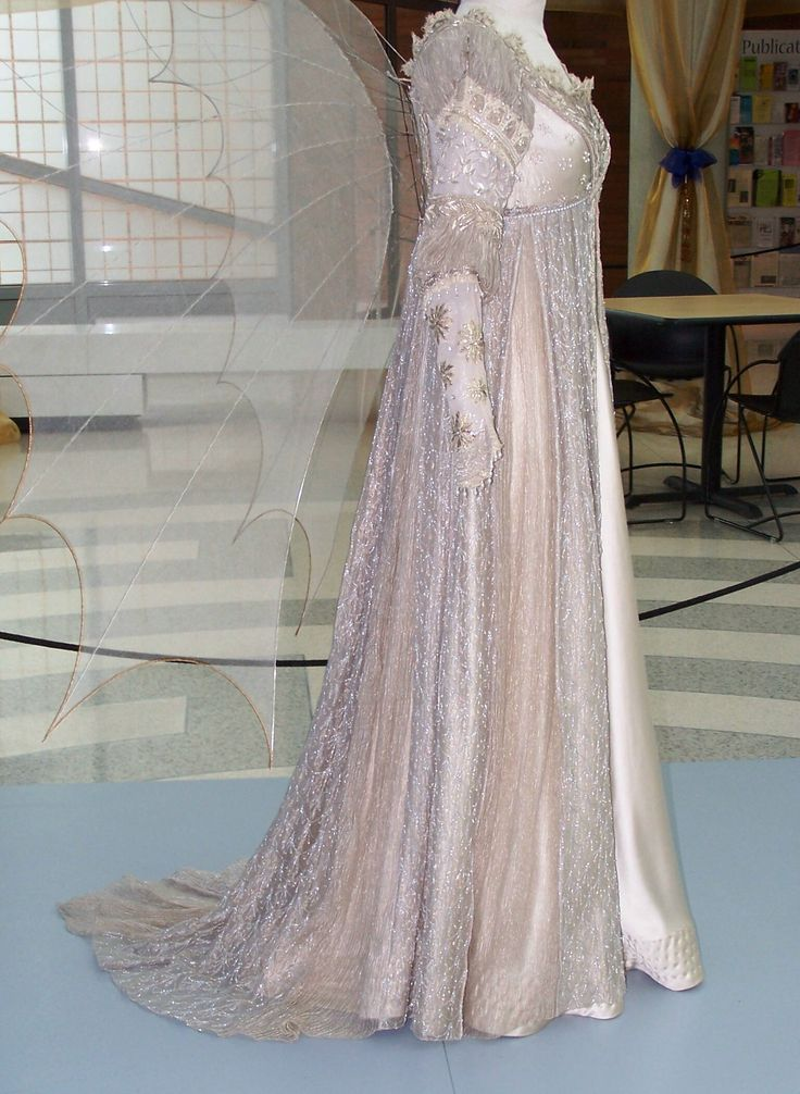 Ever After - I saw this dress in an exhibit once, but they didn't have the wings on display