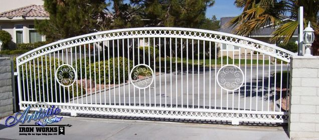 1000+ Images About Wrought Iron Driveway Gates On