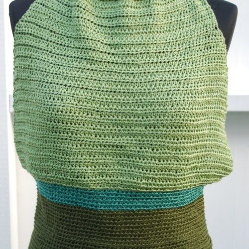 Crochet summer top, front