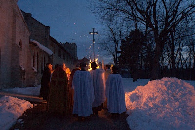 Nashotah House, Great Vigil of Easter 2008