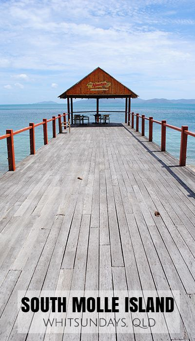 South Molle Island pier in the Whitsundays, Qld. Such an epic pier, and makes for some fun photography!