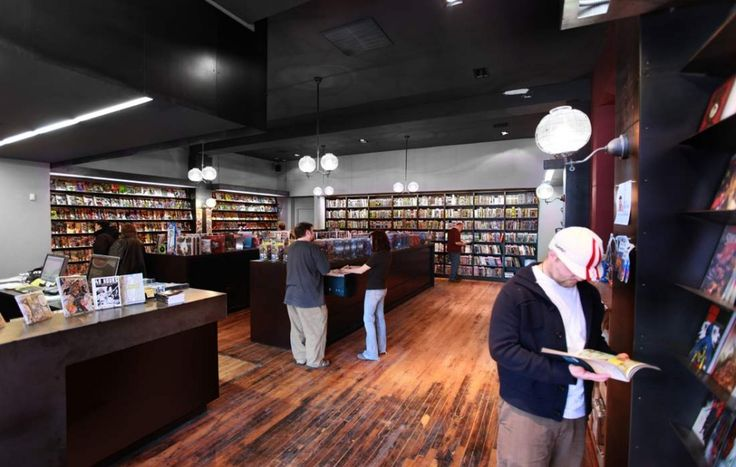 This is what a comic book store SHOULD look like.