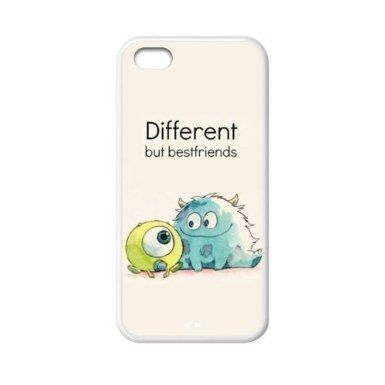 Disney Cartoon Monsters Inc sully & mike wazowski TPU Rubber Sides Case for Apple iPhone 5C, Cheap IPhone5 New Style: Amazon.co.uk: Electron...