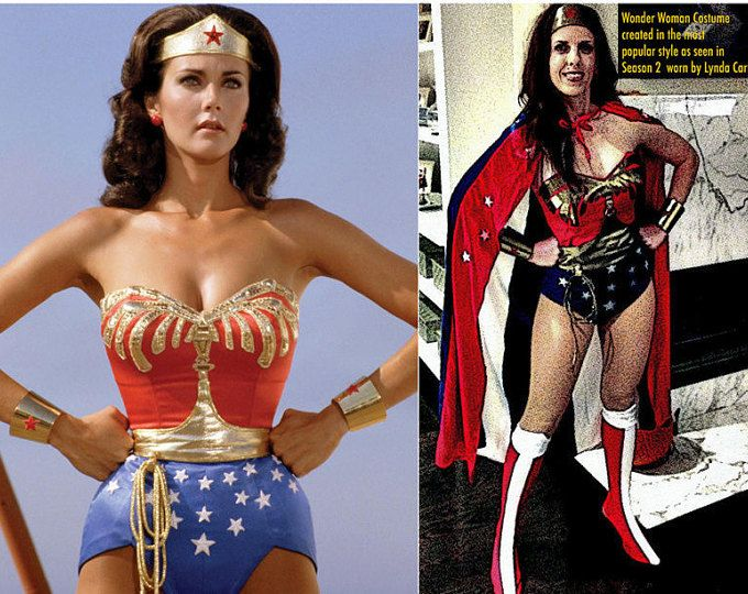 Don't wait till October to order your Full #WonderWoman #Costume WITH Cape, Tiara, Cuffs, Corset, Belt, Briefs and Earrings...