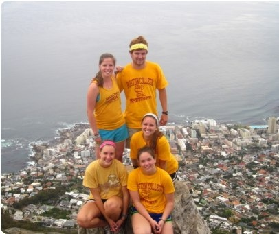 Atop Lions Head, Cape Town, South Africa. Photo by Timothy Coogan