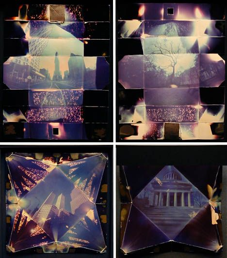 """Thomas Hudson Reeve's pinhole camera is made out of photo paper itself.""  I need to try this."