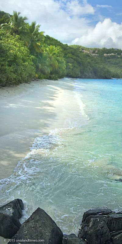 With Trunk and Cinnamon garnering most of the attention it's easy to overlook this little gem. As in Little Cinnamon Beach, St John, USVI. http://stjohn-beachguide.com/little-cinnamon-beach/