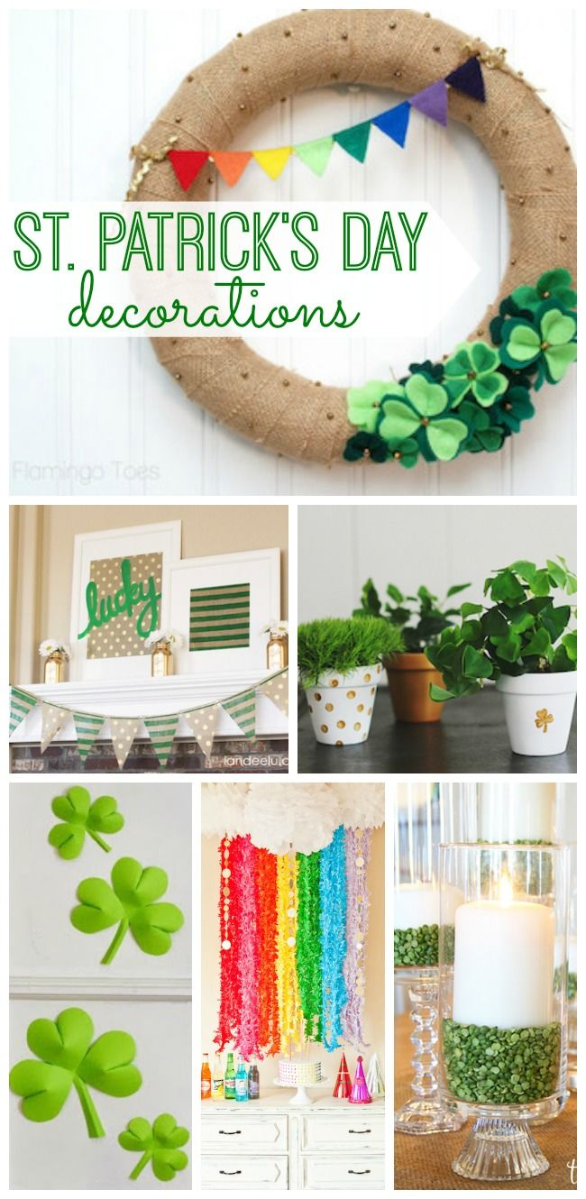 Decorate your home for St. Patrick's Day and spread the cheerfulness of this fun holiday. You'll love these DIY St. Patrick's Day decorations!