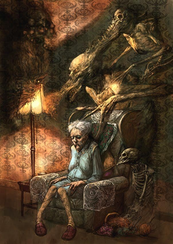 Les 495 meilleures images propos de macabre art sur for Histoire macabre