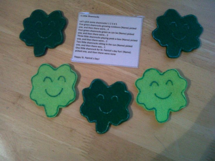 Five Shamrocks $3.50