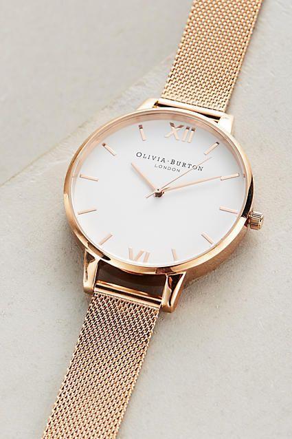 Rosie Gold Watch by Olivia Burton