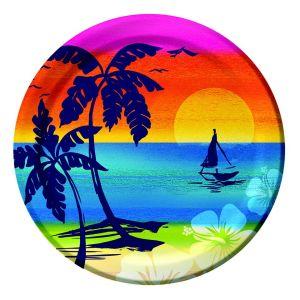 Aloha Summer Dinner Plates | Peeks
