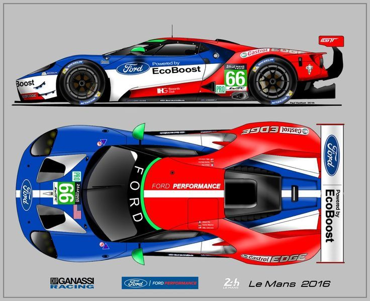 Ford Gt Le Mans 2016 Frank2nicolas Ford Frank2nicolas Gt Le Mans Ford Gt Ford Racing Le Mans