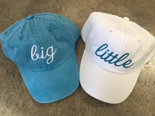 Big Little hats by KustomDezins on Etsy