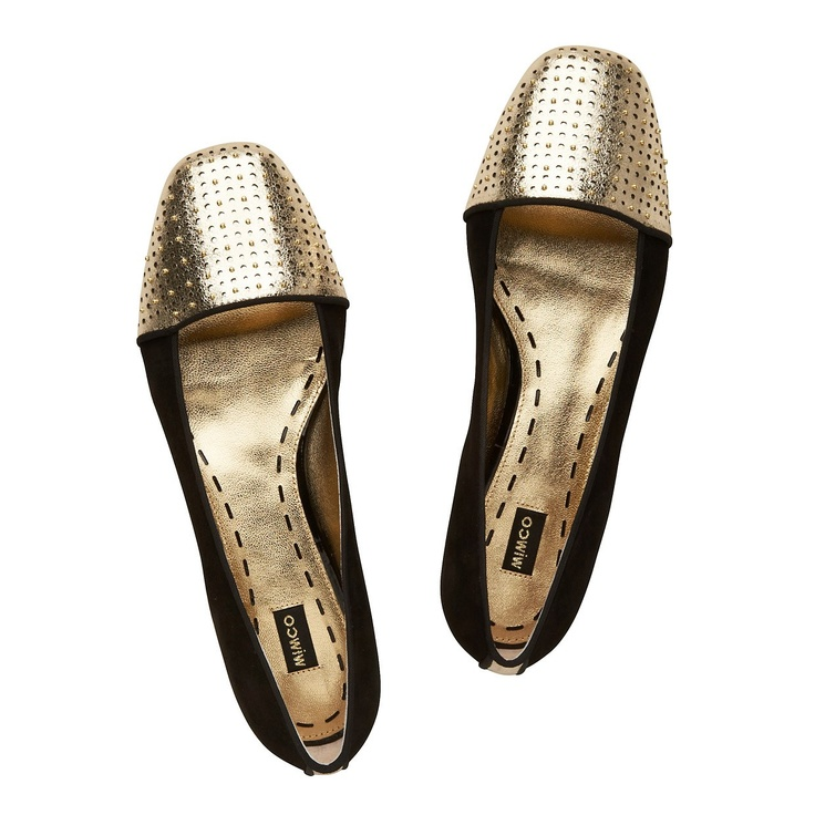 Perforated perfection worked over with stunning stud details, our Matador Ballet is the perfect update to your trans-seasonal wardrobe.