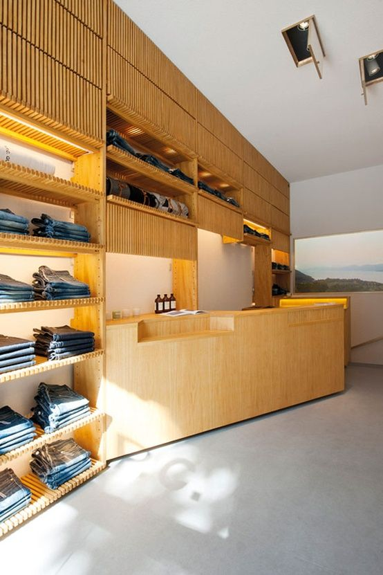 A.P.C. store rue Royale by Matt Schroeter