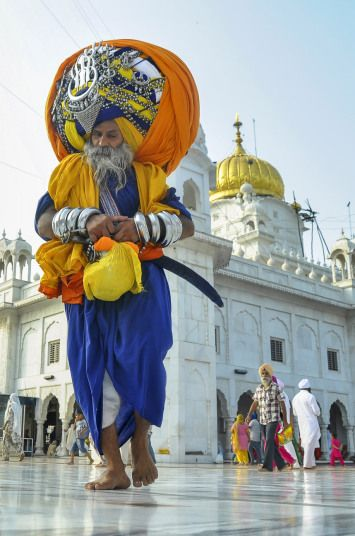 Devout Sikh, Avtar Singh Mauni, is the proud owner of the world's largest turban. The holy man's impressive headgear weighs a hefty 100lbs and measures in at a staggering 645m when unwrapped - the same length as 13 Olympic-sized swimming pools. The 60-year-old has been regularly adding to it for the past 16 years and it can take him up to six hours to put it on. Its size is yet to be officially verified - but if proved correct it would overtake current Guinness World Record, Major Singh…
